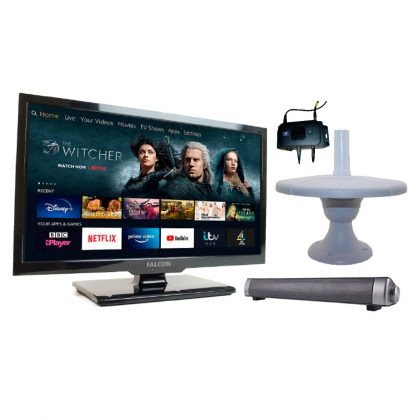 4G Smart Enabled TV Packages