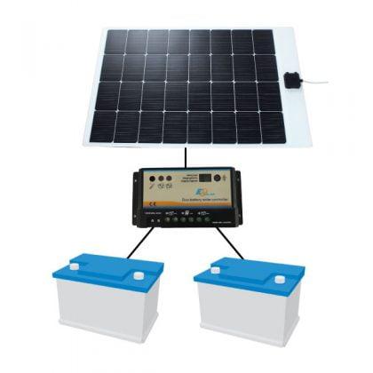 Flexible Dual Output Solar Systems